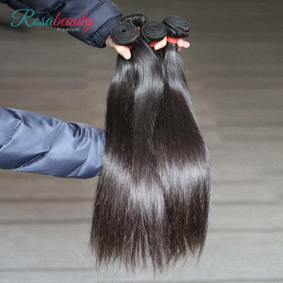 [Rosabeauty] OneCut Hair wholesale Straight 8-28 30 pulgadas P pelo Remy brasileño Color Natural 100% tejidos mechones de cabello humano