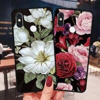 Чехол с 3D тиснением из ТПУ Для Xiaomi Poco F3 M3 X3 NFC Pro Redmi Note 10 9 8 8t S 7 5 6 Mi 11 10T Lite Pro, винтажный цветочный чехол