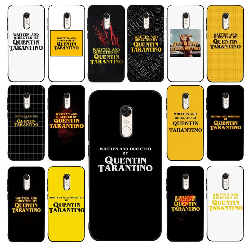 maiyaca-written-and-directed-by-quentin-tarantino-phone-case-for-redmi-4x-5-plus-5-6-7-8-9-a-6pro-go-k20-cover