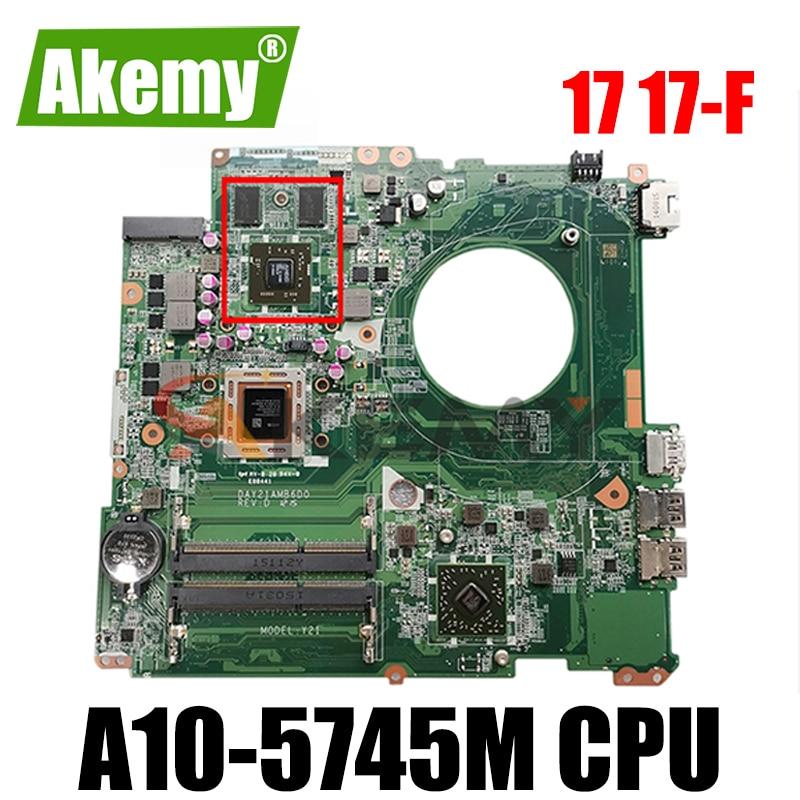 AKemylaptop اللوحة ل HP جناح 17 17-F A10-5745M DAY23AMB6F0 763428-501 763428-001 الرسومات 260M 2GB