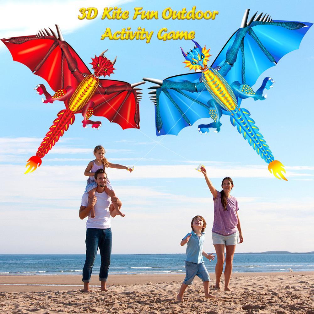 Drachen Kite Set für Kinder Kite Linie mit Schwanz Kite Outdoor Interessant Spielzeug Kite Outdoor Sport Spielzeug B2