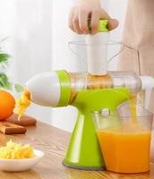 hand crank juicer multifunction manual fruit squeezer smoothie blender fruit extractor orange lemon juicer ice cream maker