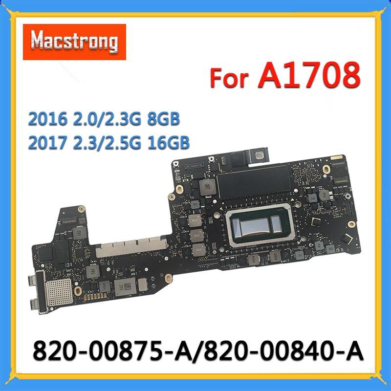 اختبار A1708 اللوحة 820-00875-A ل ماك بوك برو 13
