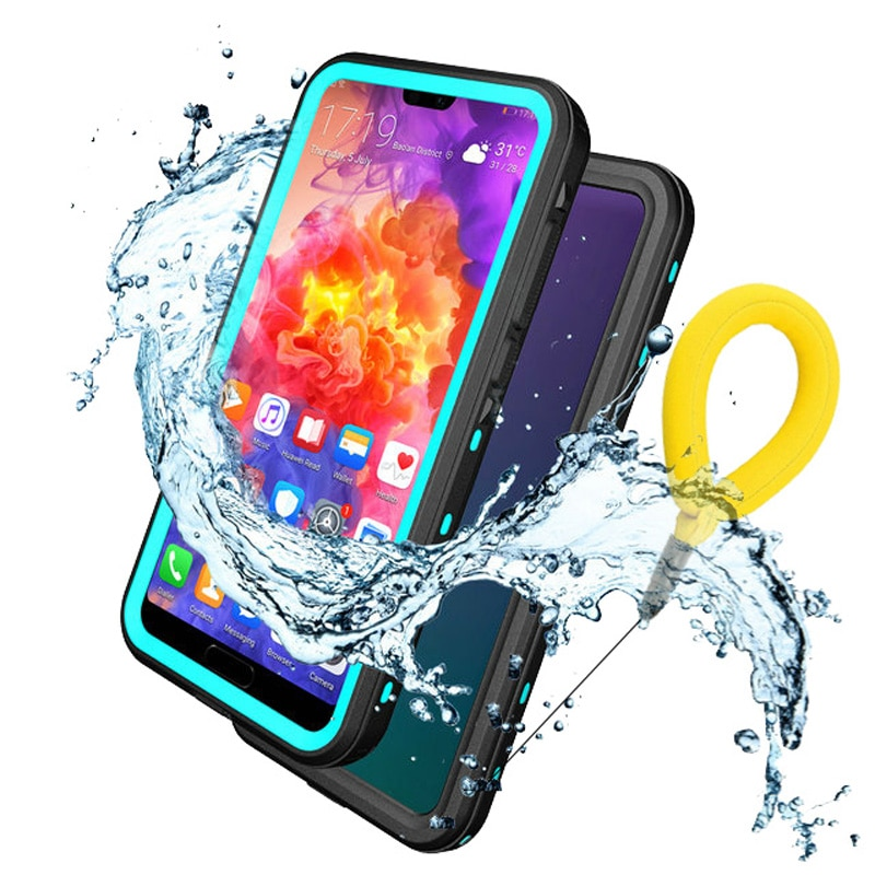 For Huawei P30 Pro Waterproof Case IP68 Funda 30 P 40 P20 Pro P30 Lite Case 360 Protect Huawei P40 PRO Water Proof Cover P20Lite
