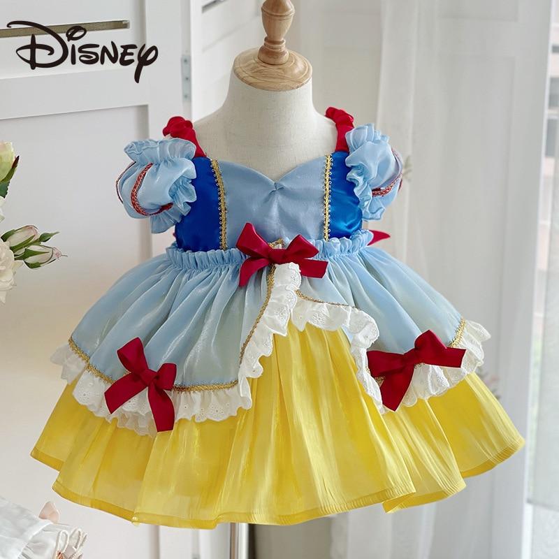 Disney's Lolita Princess Dress and Snow White Baby dress are adorable Halloween dresses for children  long skirt  pleated skirt