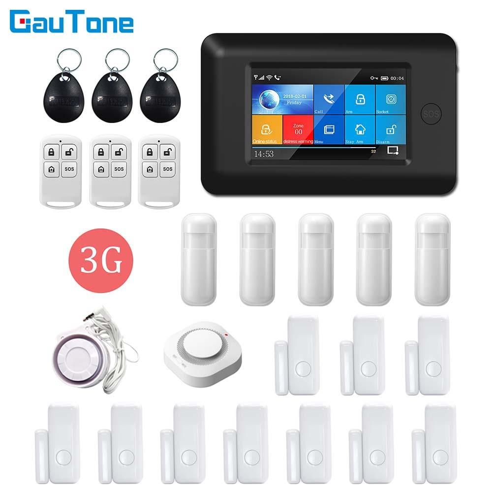 Беспроводная система сигнализации GauTone, Wi-Fi, 3G, GPRS, управление через приложение, для дома, офиса, зданий, заводской охранной сигнализации для ...