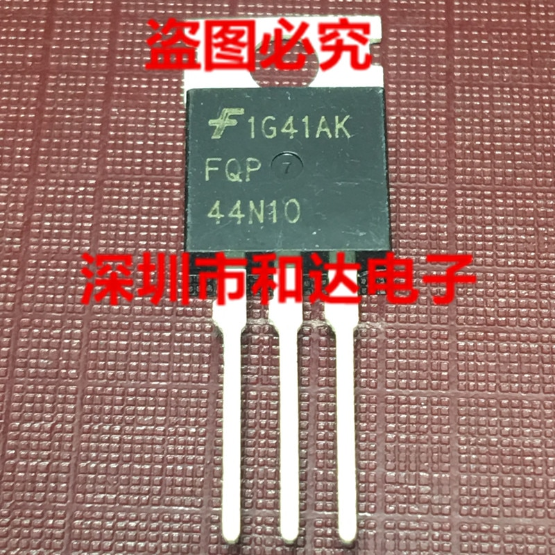 10pcs 44A FQP44N10 PARA-220 100V