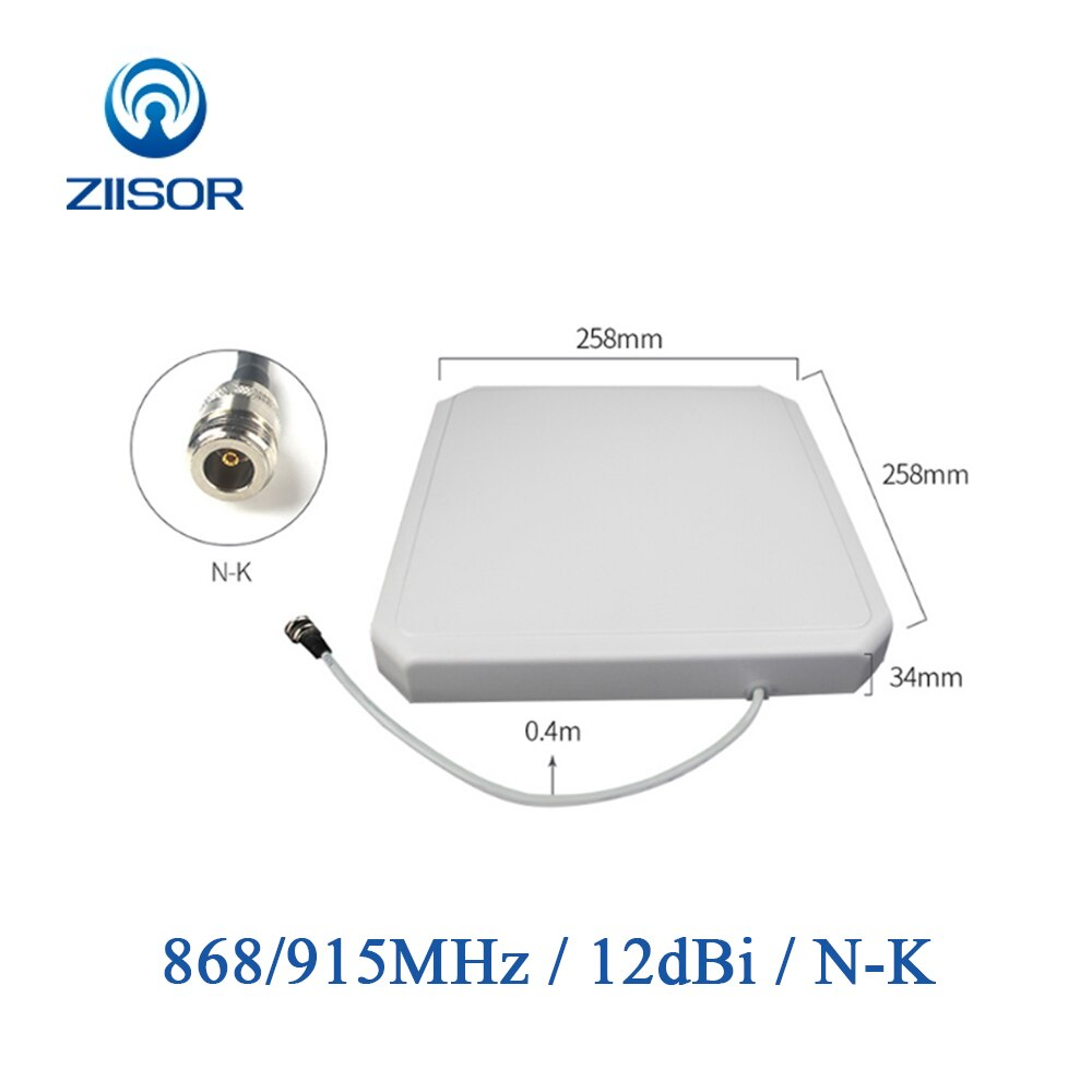 UHF 915MHz Panel Antenne 868 MHz Richtungs RFID Antenne антенн 900M N Weibliche Sma-stecker Antennen für Kommunikation wifi TX900
