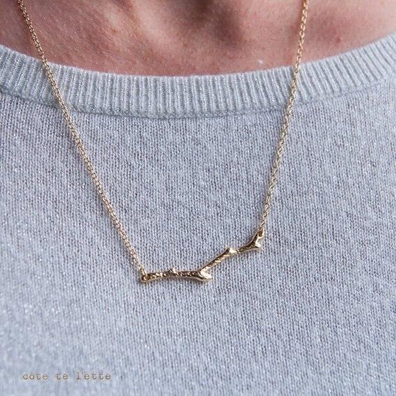 30 gałąź drzewa łańcuszek z wisiorem naszyjnik natura leśna gałązka prosty oliwkowy naszyjnik tabliczka botaniczny kończyna naszyjnik biżuteria kobiety prezent