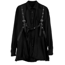 2020 mode femmes chemises en vrac noir foncé série chemise femmes nouveau printemps automne conception à manches longues haut ample