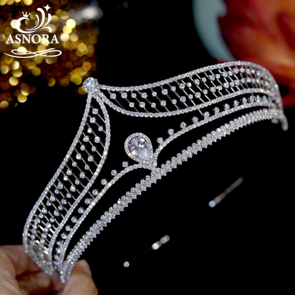 Moda de la boda Tiaras de joyas Para el pelo y coronas...