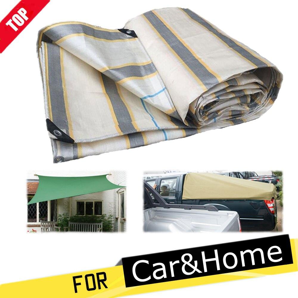 Lona gruesa de 0,32mm, tela impermeable para camioneta, patio exterior, plantas suculentas, protector solar impermeable, tela para sombrilla