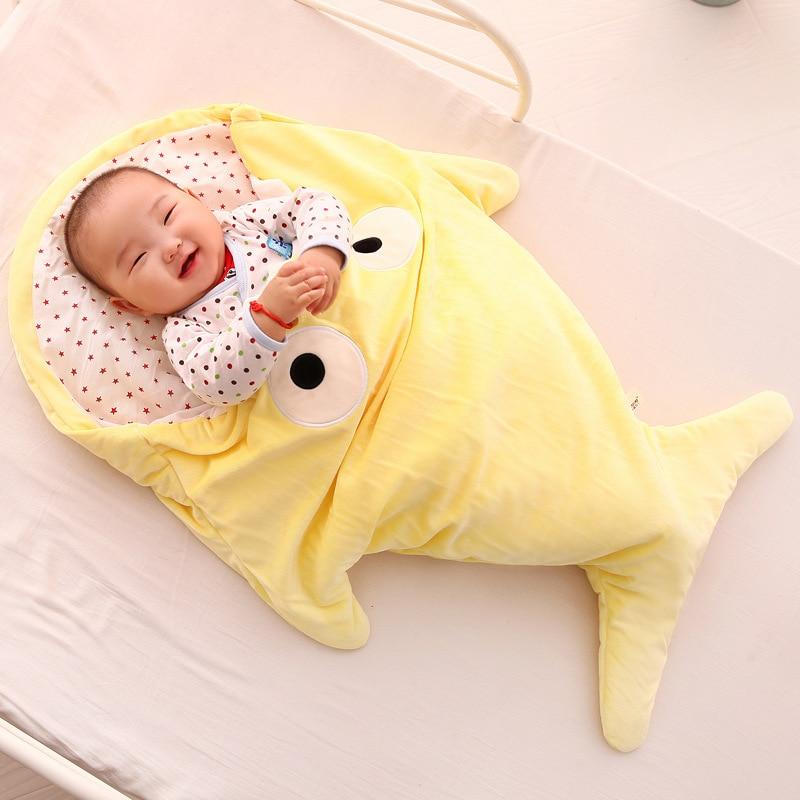 Abrigo para dormir para recién nacido, bolsa a prueba de patadas, dibujos animados para bebé, niño, sueño reparador, mantas para niño, manta para niña, albornoz para bebé 0-16M