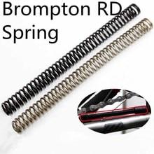 aceoffix titanium spring for Brompton folding bike rear gear shift ultralight ti material spring
