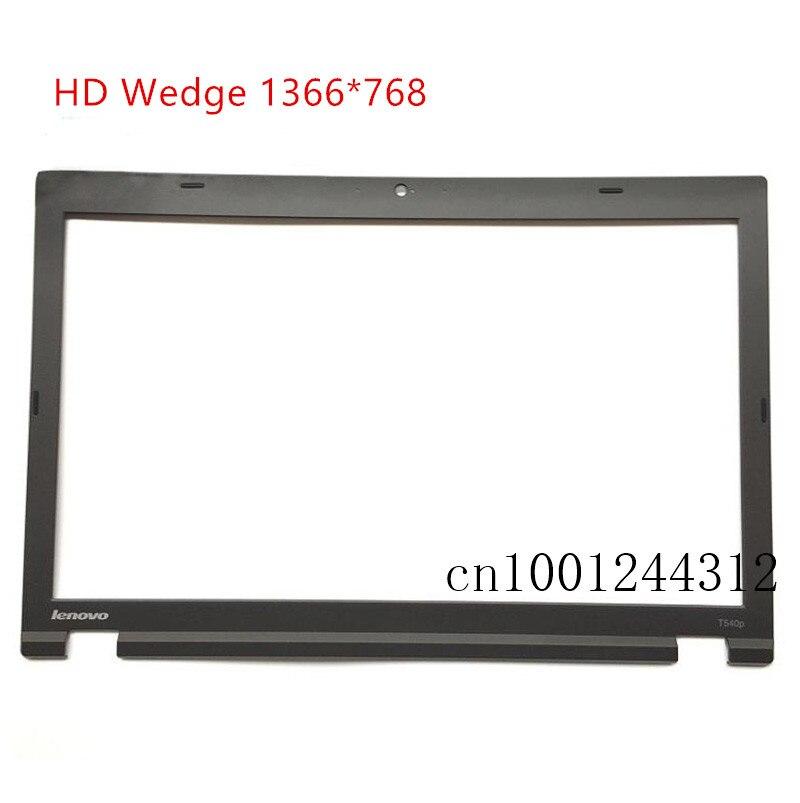 Nuevo Original para Lenovo ThinkPad T540P LCD marco frontal bisel HD cuña 1366*768 pantalla 04X5522