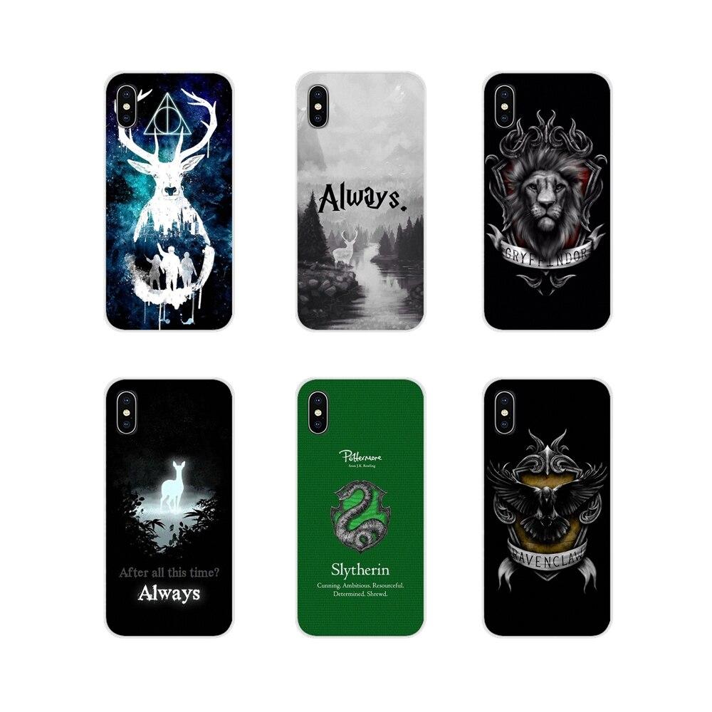 Гарри всегда школа Слизерин для Apple iPhone X XR XS MAX 4 4S 5 5S 5C SE 6 6S 7 8 Plus ipod touch 5 6 Чехол для телефона Чехлы