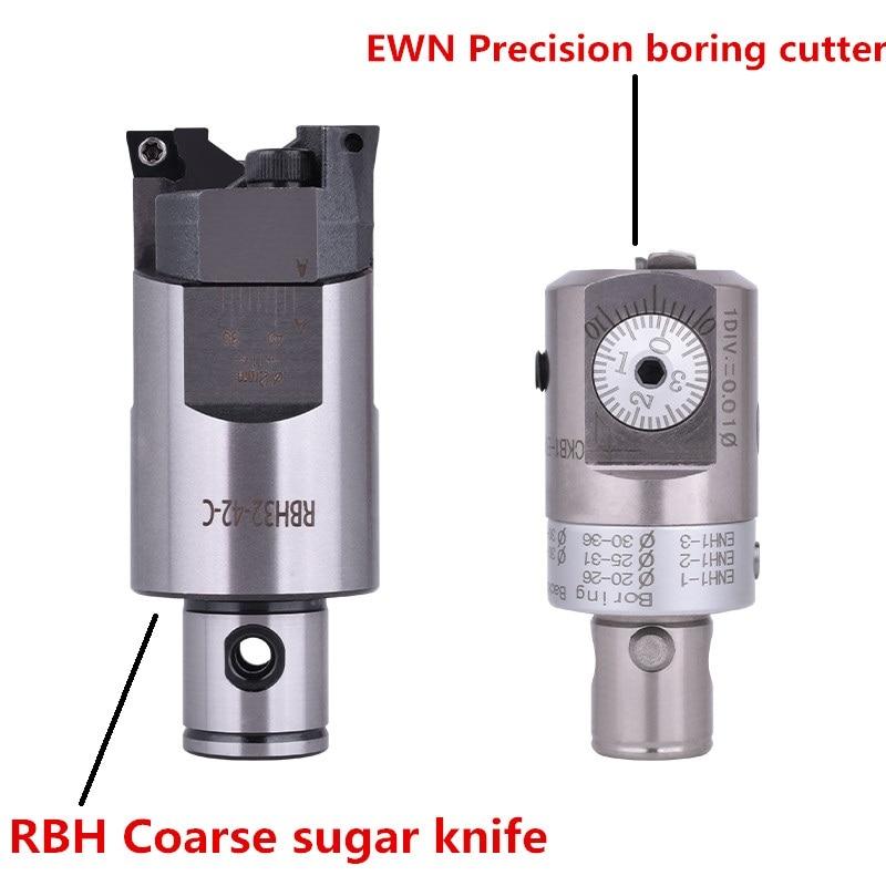 RBH Twin bit RBH 40-55mm Twin-bit Rough Boring Hoofd CCMT09T304 gebruikt voor diepe gaten saai tool Nieuwe