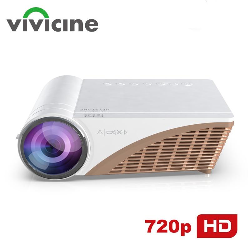 Vivicine V600 soporte 1080p HD portátil de cine en casa LED Video...
