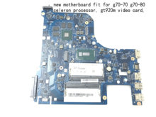 Mevcut yeni ürün, anakart AILG1 NM-A331 LENOVO G70-80/G70-70 LAPTOP anakart, onboard celeron işlemci. gt920m.