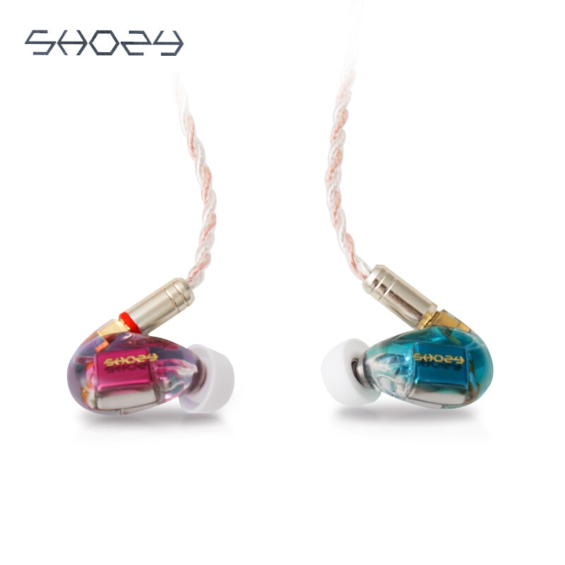 SHOZY 3BA-سماعات أذن سلكية ، سماعات Hifi للحد من الضوضاء ، سماعات رأس استريو ، شاشة Mmcx ، كابل قابل للفصل