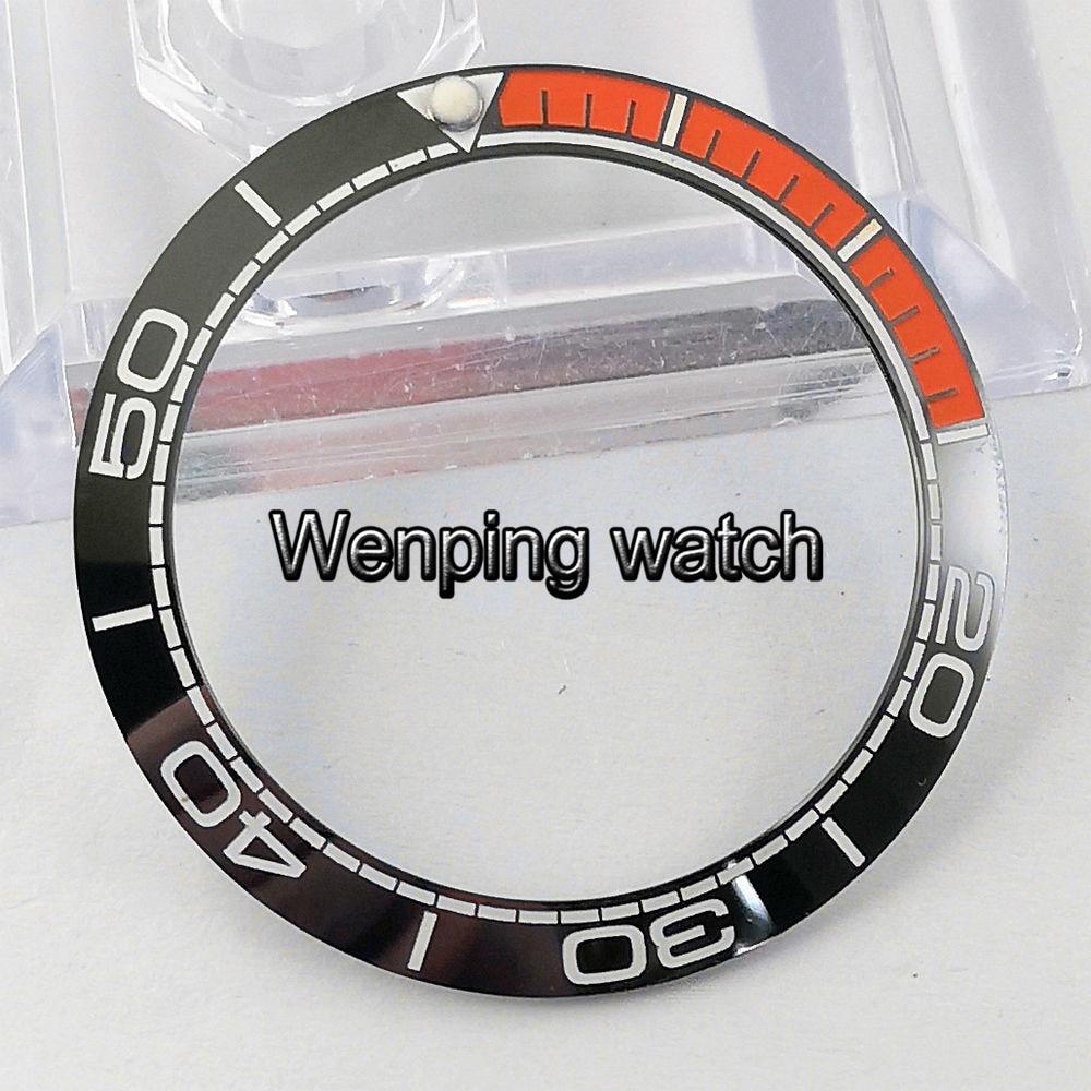 Reloj de hombre mecánico de caja de 43mm con inserto de anillo de bisel de cerámica de Material de titanio Corgeut