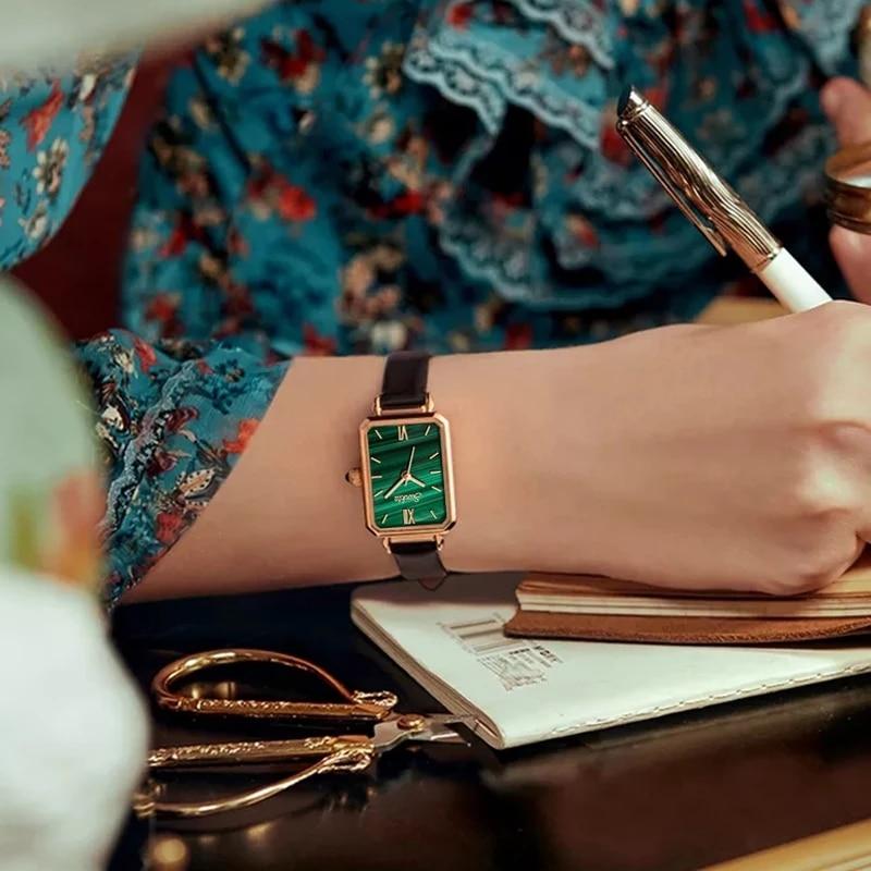 Sunkta Japan Quartz Movement High Quality Waterproof Slim Ladies Watch Dropshipping Women Stainless Steel Mesh Rose Gold Watches enlarge