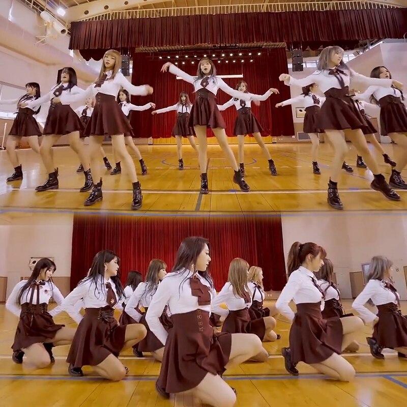 سترة قصيرة من Kpop IU Seo Yea Ji صيفية للرقص باللون الأبيض قميص بلوزة + رباط مثير بخصر عالي تنورة صغيرة على شكل حرف a أطقم نسائية