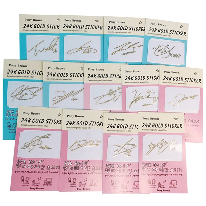 KPOP NCT Members Name Anti-Radiation Sticker For Mobile Laptop Cup Taeyong Jaemin DIY Stickers