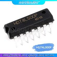 10 Uds HD74LS00P DIP14 HD74LS00 DIP SN74LS00N 74LS00 nuevo y original IC envío gratis