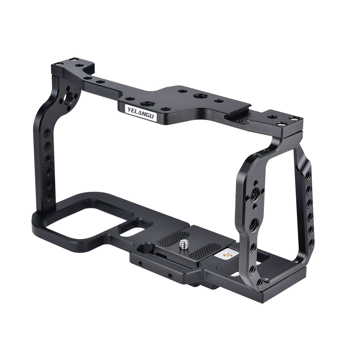 YELANGU C9 Camera Cage For BMPCC 4K/6K Aluminum Alloy Quick Release Plate with Top Handle Grip Camera Cage Support wholesale enlarge