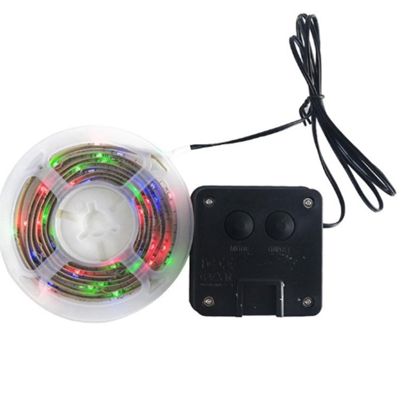 Quadro de basquete led barra de luz cesta de indução luz solar descoloração luminosa cesta quadro luz tiro cinto de luz
