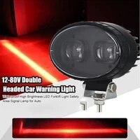12 80v double headed car warning light waterproof high brightness led forklift light safety area signal lamp for auto