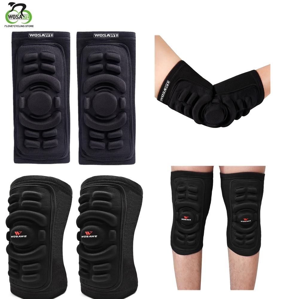 WOSAWE, rodillera elástica para gimnasio, deporte, baloncesto, Protector de brazo, tiro, a prueba de golpes, Codera, rodillera, Protector de rodilla, soporte