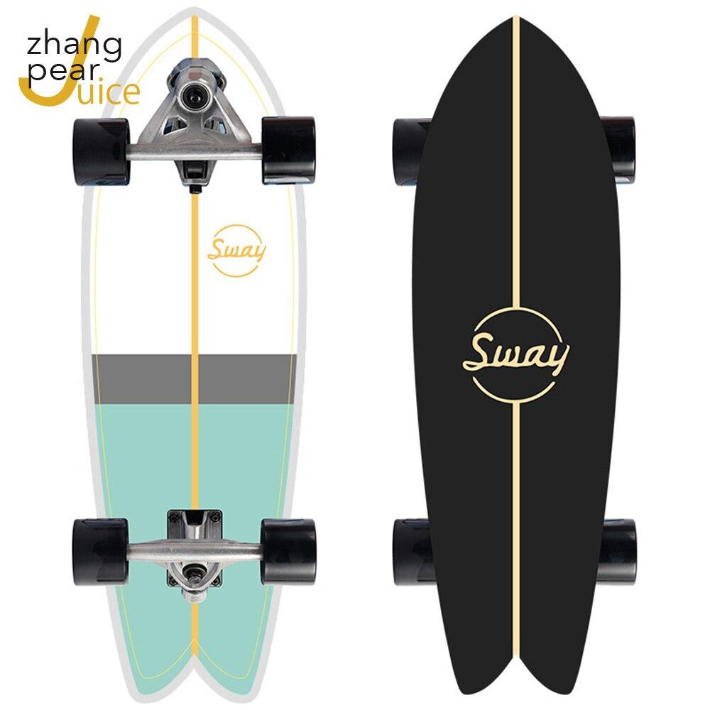 Skateboard 32in Penny Board Longboard Skate Board Four Wheels CX7 Truck Bearings ABEC-11 Skateboard