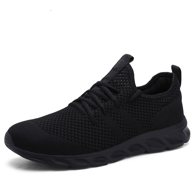 Hot Sale Light Man Running Shoes Comfortable Breathable Mens Sneaker Casual Antiskid and Wear-resistant Jogging Men Sport