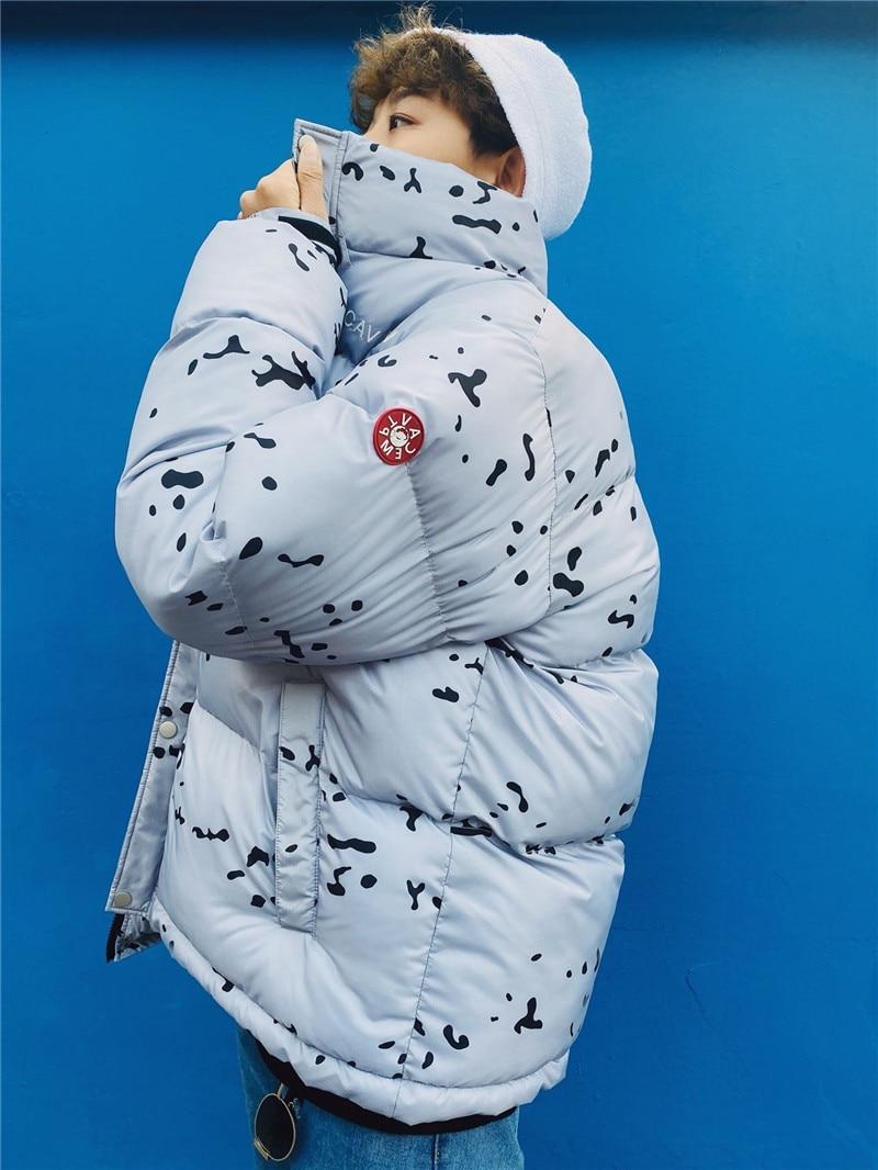 Autumn Winter CAVEMPT Short Warm Puffer Jacket Men Women High Quality Snap Zipper Outerwear CAV EMPT Fashion Casual Coats