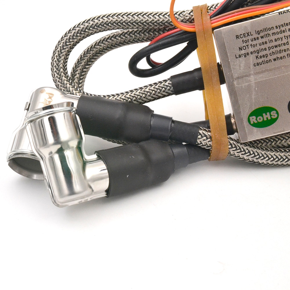 RCEXL CDI Single/ Twin Ignition With Sensor Kit CM6 90 Degree 6v-12v For 2008 After The 3W Engines enlarge