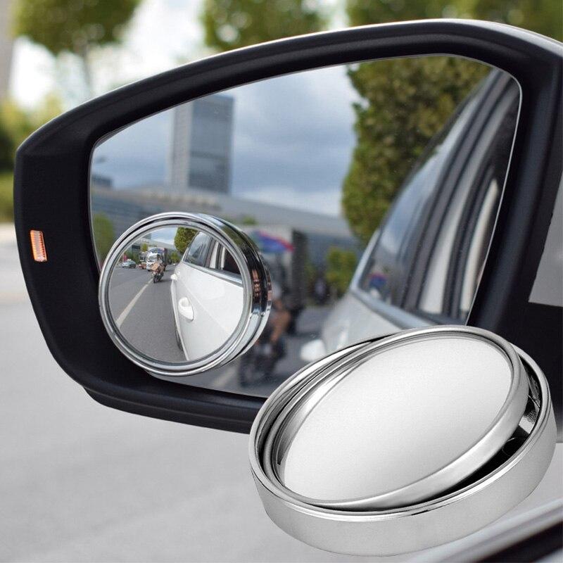 1 шт. Зеркало для автомобиля 360 широкоугольное круглое выпуклое зеркало для автомобиля боковое зеркало для слепого пятна для автомобиля маленькое круглое зеркало заднего вида