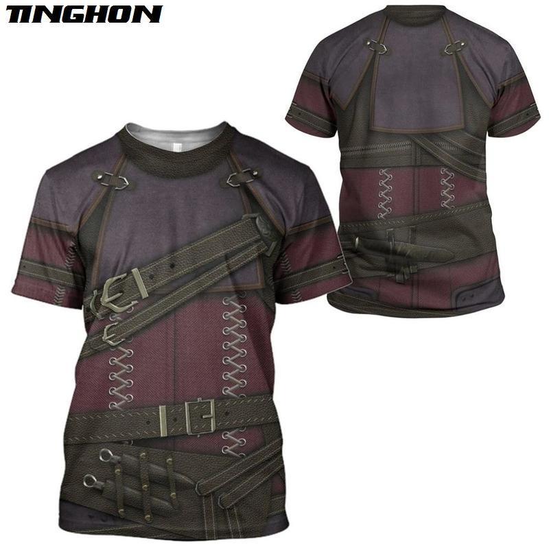 XS-7XL 3D Cosplay Party Uniform Printed Men T Shirt Summer Short Sleeve Shirt Fashion Street Casual Unisex T-shirt Tops