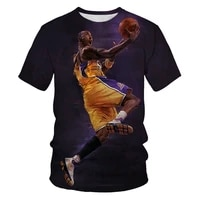 basketball is a fashionable new sport in 2021 football 3d printing pattern mens short sleeved casual t shirt clothes