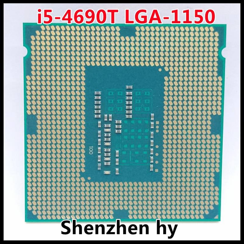 I5-4690T SR1QT 2.5 GHzQuad-Core رباعي النواة معالج وحدة المعالجة المركزية L2 = 1 متر L3 = 6 متر 45 واط LGA 1150