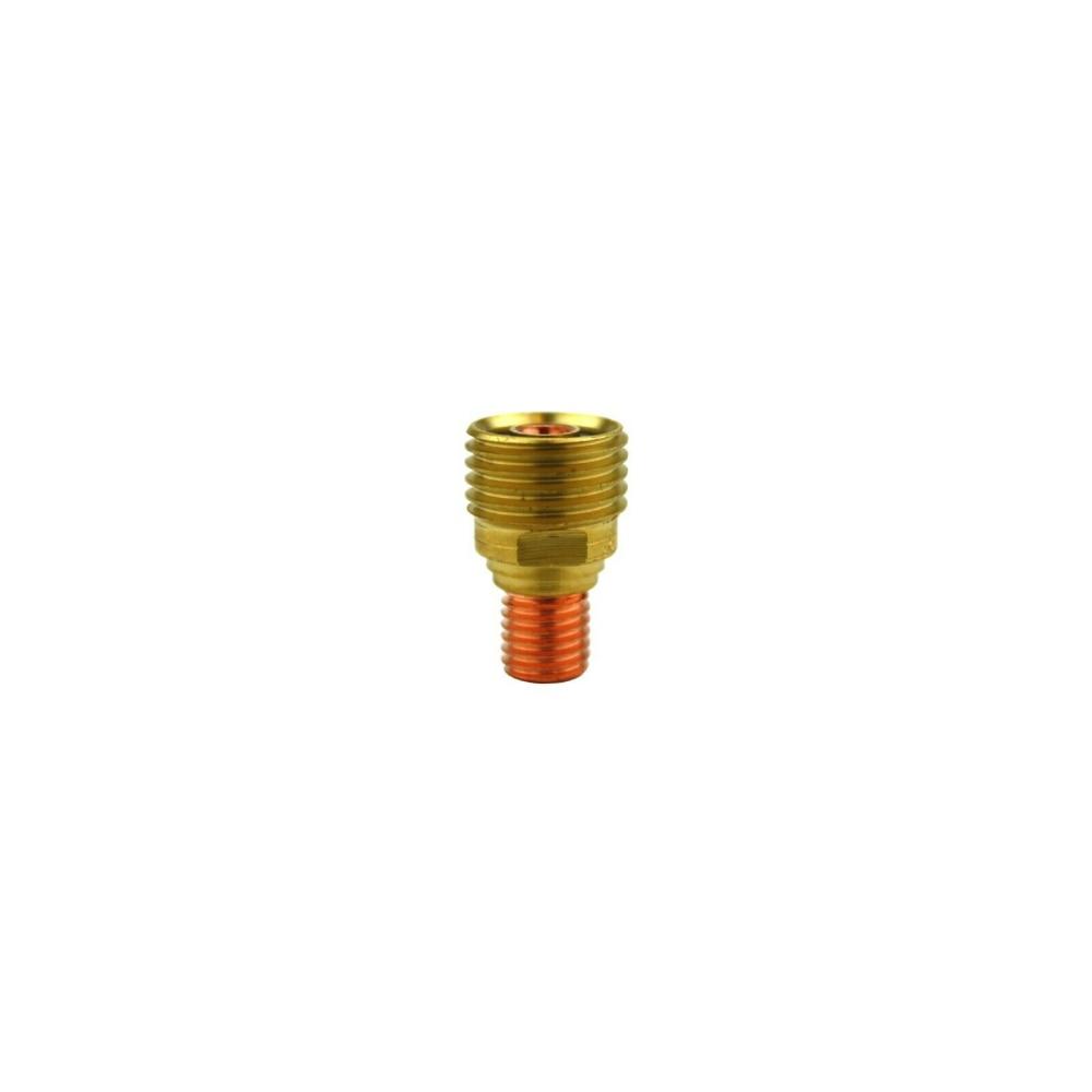 Corps de pince de lentille de gaz 45V42 1.0mm pour torche de soudage TIG 9/20/25