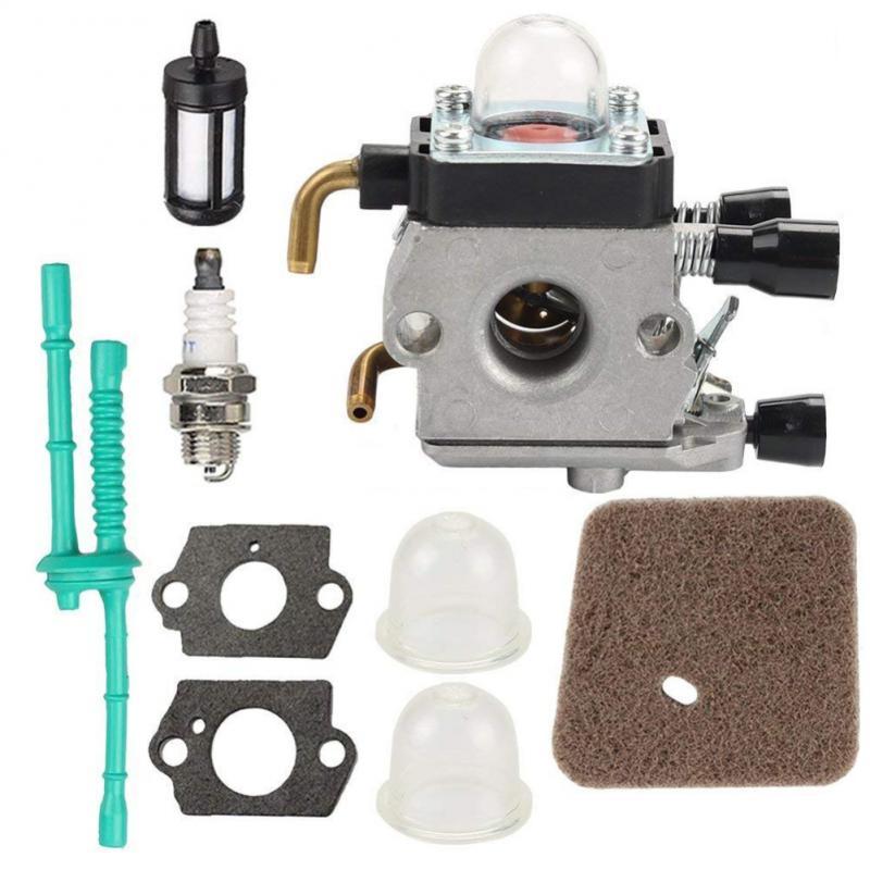 Карбюратор для STIHL FS38 FS45 FS46 FS55 KM55 FS85 воздушный топливный фильтр прокладка Carb FS85 карбюратор плюс набор аксессуаров дропшиппинг