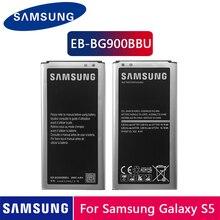 Originele Samsung Batterij EB-BG900BBU EB-BG900BBC 2800 Mah Voor Samsung S5 G900S G900F G900M G9008V 9006V 9008W 9006W g900FD Nfc