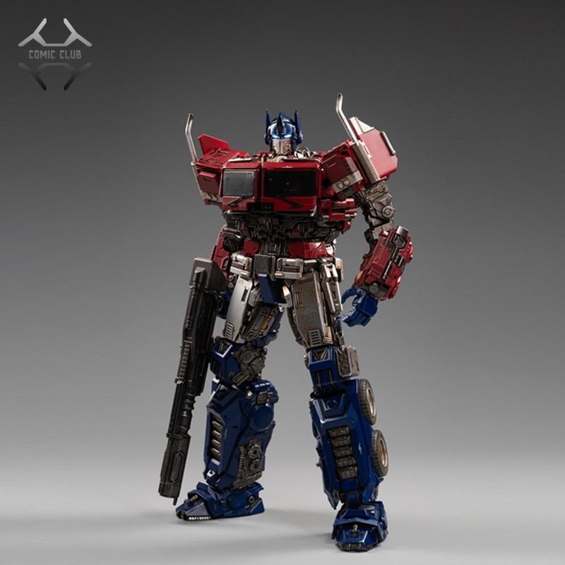 COMIC CLUB toyworld transformación TW-09 OP DLX escala comandante con acción con luz figura Robot Juguetes