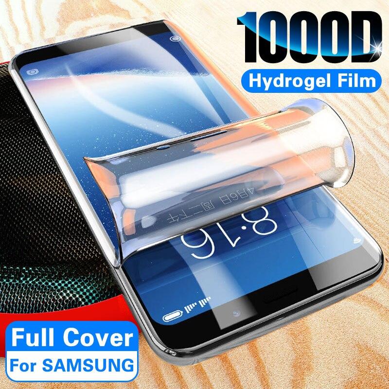 Filme de hidrogel para sony xperia 1 xperia10 xperia10 plus xp5 xp1 ii xp10 ii cobertura completa protetor de cobertura