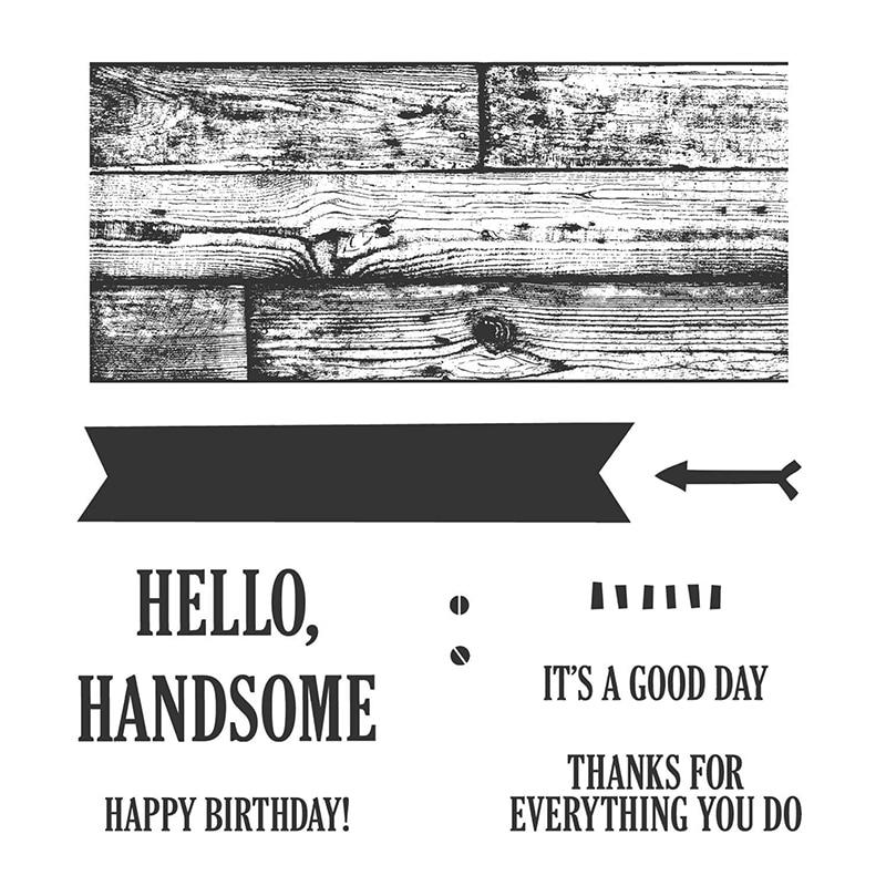 2020 nuevo tablero Flecha de pared sentimiento Feliz cumpleaños sellos transparentes conjuntos y troqueles de corte de Metal Scrapbooking para manualidades fabricación de tarjetas
