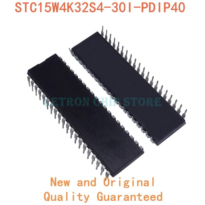 5 قطعة STC15W4K32S4-30I-PDIP40 DIP40 STC15W4K32S4 30I-PDIP40 DIP-40 STC15W4K32S430I-PDIP40 DIP جديدة ومبتكرة IC شرائح