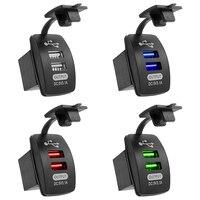 Автомобильное зарядное устройство с 2 USB-портами, 5 В, 3,1 А