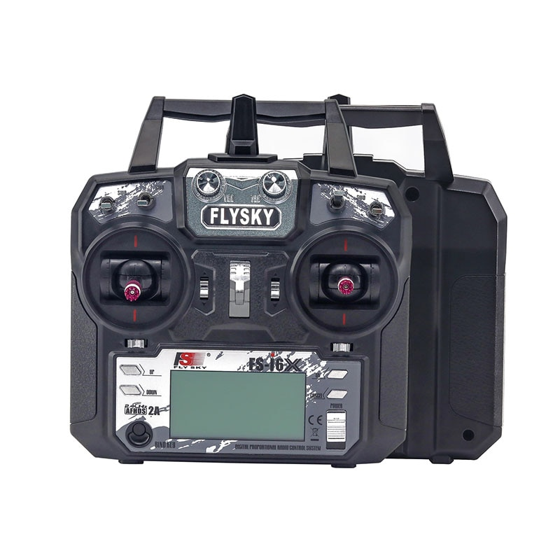 TCMM FlySky FS-i6X 2.4GHZ 10CH remote control For RC Helicopter Multi-rotor drone enlarge